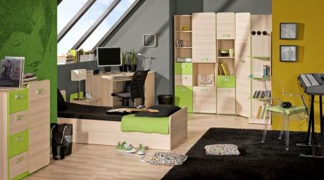 Študentská izba Melisa I - jaseň/zelená