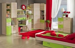 Študentská izba Melisa II - jaseň/zelená