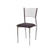 Jedálenská stolička, tmavohnedá, ZAIRA