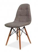 Jedálenská stolička AXEL II sivá / buk