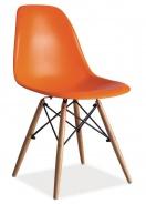 Jedálenská stolička ENZO oranžová