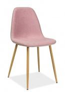 Jedálenská stolička DUAL ružová