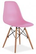 Jedálenská stolička ENZO ružová