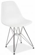 Jedálenská stolička LINO biela