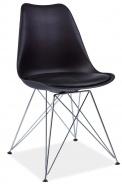 Jedálenská stolička TIM čierna