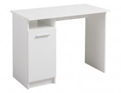 Písací stôl Steven - biela