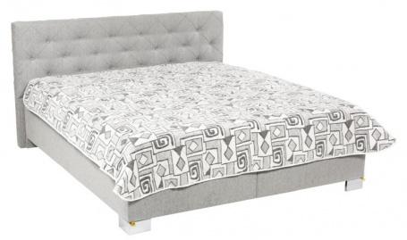 Čalúnená posteľ JOLANDA deLuxe 160,180x200cm s úložným priestorom