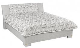 Čalúnená posteľ Leontýna deLuxe 160,180x200cm s úložným priestorom