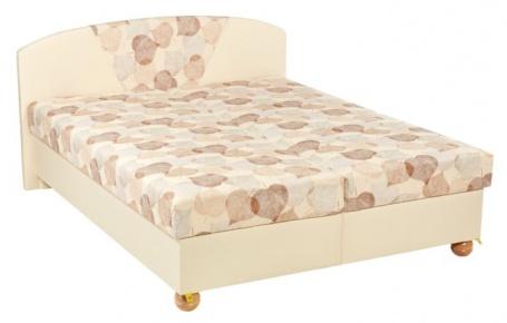 Čalúnená posteľ KLÁRA 160x200cm s úložným priestorom