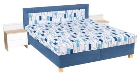 Čalúnená posteľ JITKA 160,180x200cm s úložným priestorom