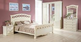 Spálňa Jasmine - krémová
