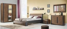 Spálňa Naomi I - orech / wenge