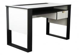 Detský písací stôl Hero - biela/čierna