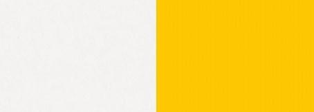biely lux/žltá