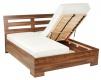 Laminovaná posteľ HILDA 160,180x200 cm LAMINO A