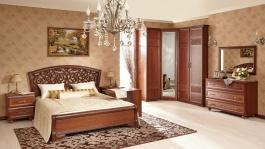 Zostava nábytku do spálne Sofia II - orech