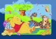 Detský koberec Disney medvedík Pu Winnie's Picnic