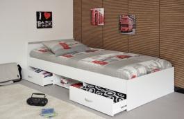 Detská posteľ Alpha - biela