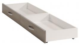 Zásuvky k posteli Iren 140x190cm - orech / biela