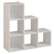 Regál Cubi 9 - biela
