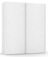 Vysoká šatníková skriňa REA Houston up 5 - biela