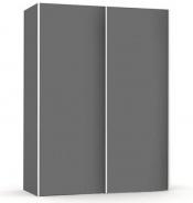 Vysoká šatníková skriňa REA Houston up 1 - graphite