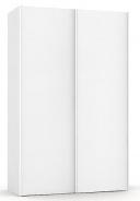 Vysoká šatníková skriňa REA Houston up 4 - biela