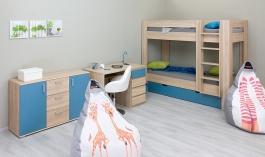 Detská izba REA I pre dve deti - výber odtieňov