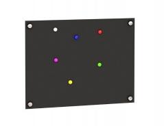 Magnetická tabuľa Trendy - čierna