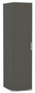 Šatníková skríňa REA Venezia 1 - graphite