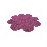Koberec Color Shaggy - slivka - kvetina