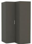 Rohová šatníková skriňa REA Venezia 5 - graphite