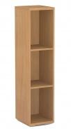 Úzky regál REA Store 30x124cm - buk