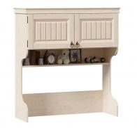 Nadstavec na písací stôl Annie - dub provence biela