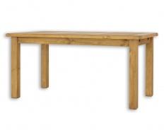 Drevený sedliacky stôl 90x160 MES 13 B - morenie