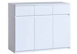 Kombinovaná komoda Liana - biela