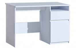 Detský písací stôl Liana - biela
