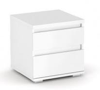 Nočný stolík REA Amy 1 - biela