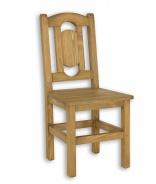 Rustikálna stolička SIL 07 sedliacka-výber morenia