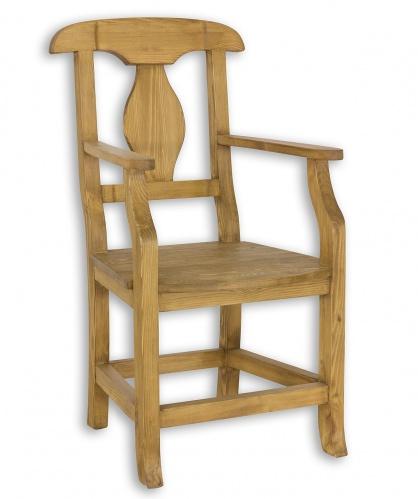 Stolička s opierkami SIL 11 sedliacka - výber morenia