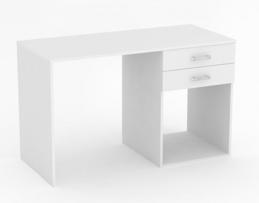 PC stolík REA Sam - biela