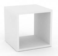 Multifunkčný stolík REA Block - biela