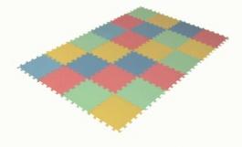 Zakončovacie diely pre penový koberec 24 maxi