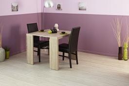Jedálenský stôl Lilly - dub melamine