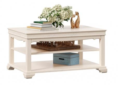 Konferenčný stolík Annie - dub provence biela