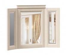 Zrkadlo v ráme Annie - dub provence biela