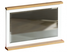 Nástenné zrkadlo Olaf - borovica andersen/dub nash