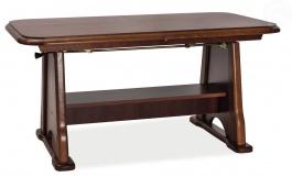 Jedálenský/konferenčný stôl s rozkladáním Beata - gaštan