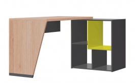 Písací stôl WOW W-7 zelená