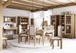 Jedálenská stolička rustikálna LUD 15-výber moreni